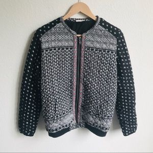 Roxy Quilted zip up jacket medium
